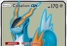 Cobalion-GX (Team Up TEU 168)