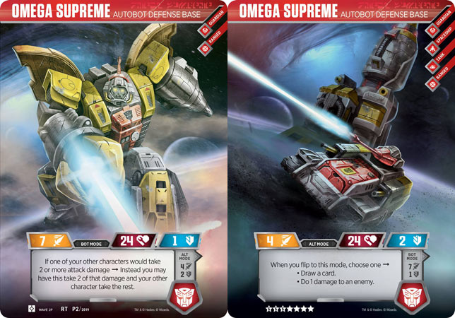 Omega Supreme - Autobot Defense Base