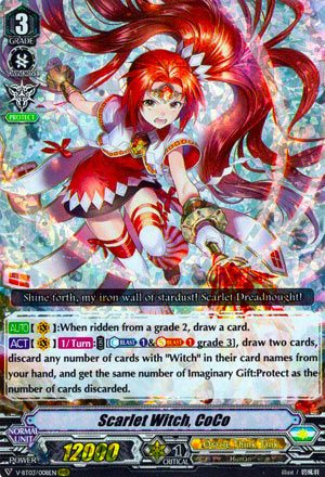 Scarlet Witch, CoCo (V Series)