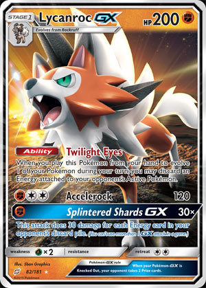 Lycanroc-GX (Team Up TEU 82)