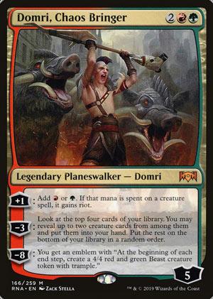 Domri, Chaos Bringer · Ravnica Allegiance