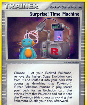 Surprise! Time Machine