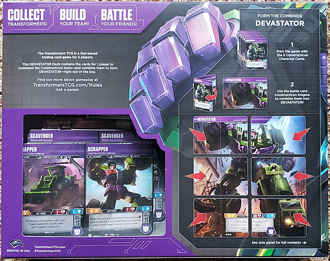Transformers TCG Devastator Box 2