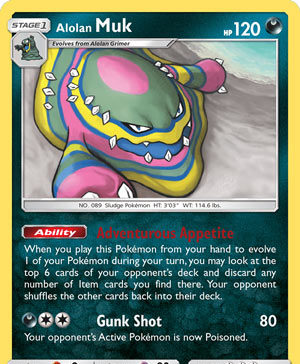 Alolan Muk (Team Up TEU 84)