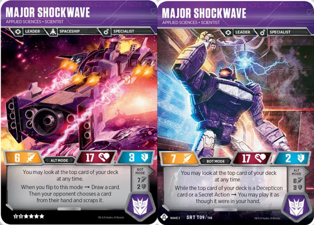 Wave 3 Character Card War For Cybertron Siege Single cards Transformers TCG