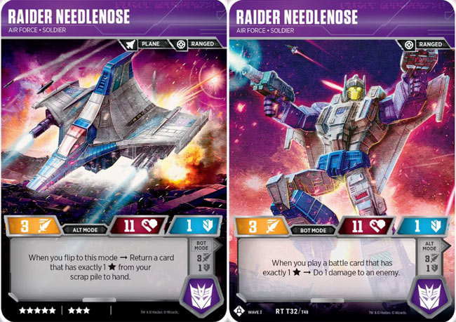 Raider Laserbeak Transformers Tcg Wave 3 SIEGE