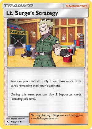 Lt. Surge's Strategy