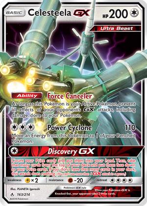 Celesteela-GX (Unbroken Bonds UNB 163)