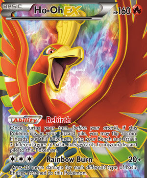 Ho-Oh-EX (Dragons Exalted DRX 119)