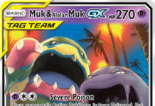 Muk & Alolan Muk-GX (Unbroken Bonds UNB 61)