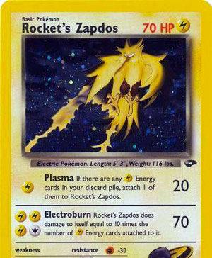 Rocket's Zapdos