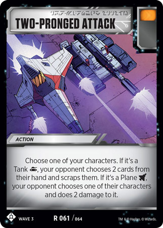 TRANSFORMERS TCG War For Cybertron Siege IR 062 Unconventional Flying Object