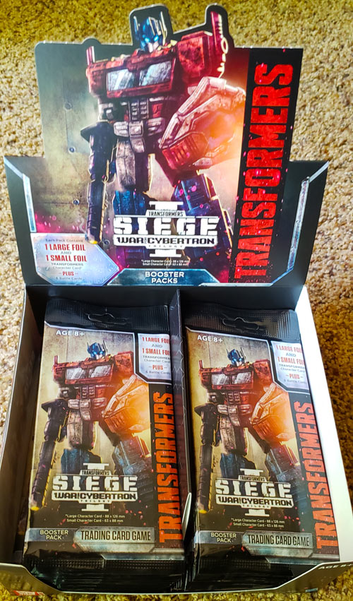 War for Cybertron Siege I Booster Packs