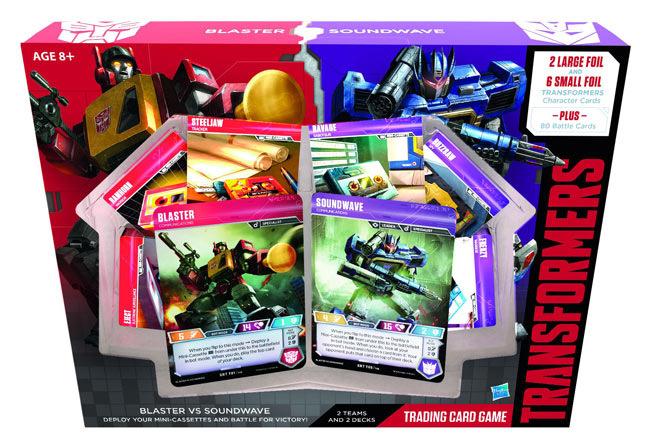 Transformers TCG: Blaster Vs. Soundwave Deck Retail Edition