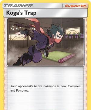 Koga's Trap (Unbroken Bonds UNB 177)