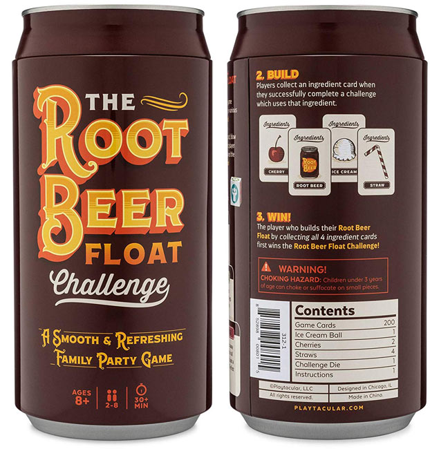The Root Beer Float Challenge Game