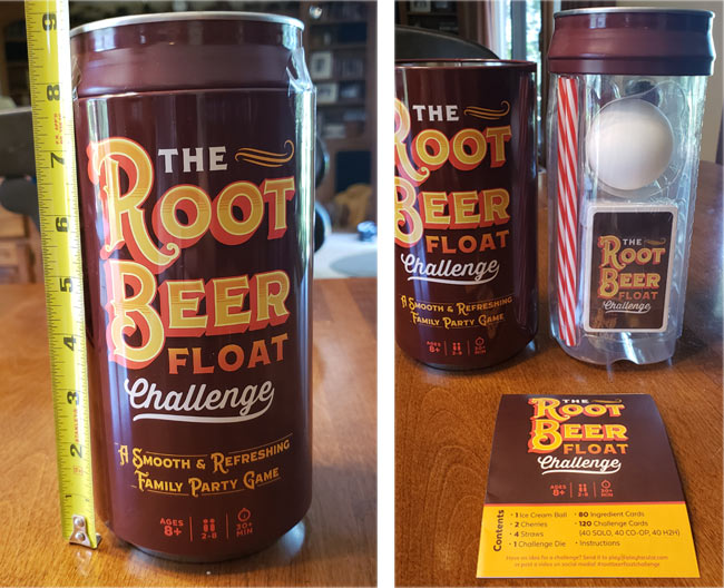 The Root Beer Float Challenge Game open