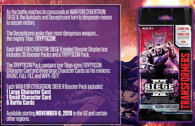 Transformers TCG Announce Wave 4