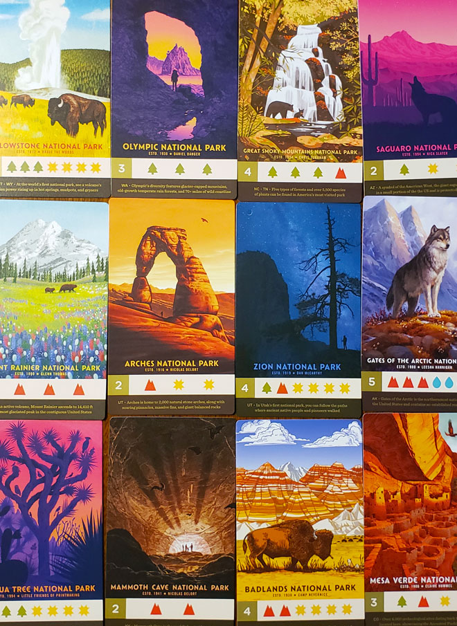 parks cards