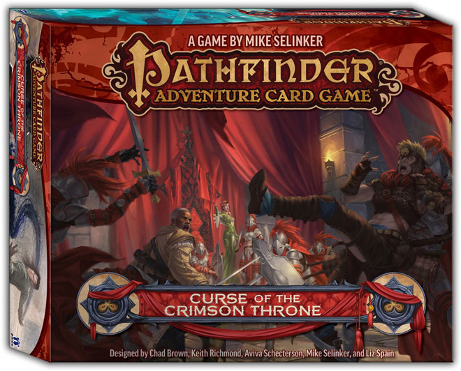 Pathfinder Adventure Card Game: Curse of the Crimson Throne Adventure Path