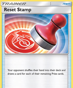 Reset Stamp