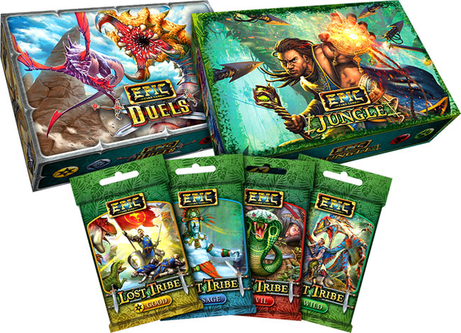 Epic Jungle & Star Realms High Alert