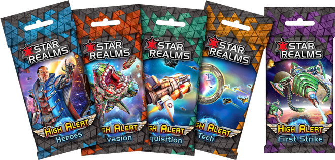 Star Realms High Alert Add On!
