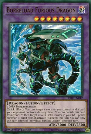 Borreload Furious Dragon