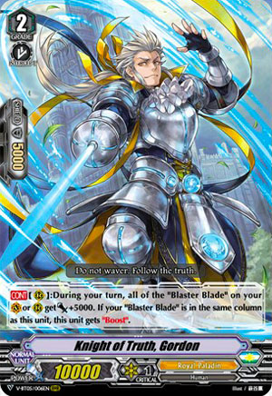 Knight of Truth, Gordon