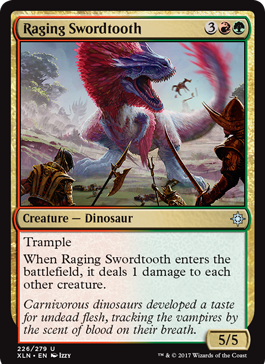 Raging Swordtooth