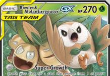 Rowlet & Alolan Exeggutor-GX