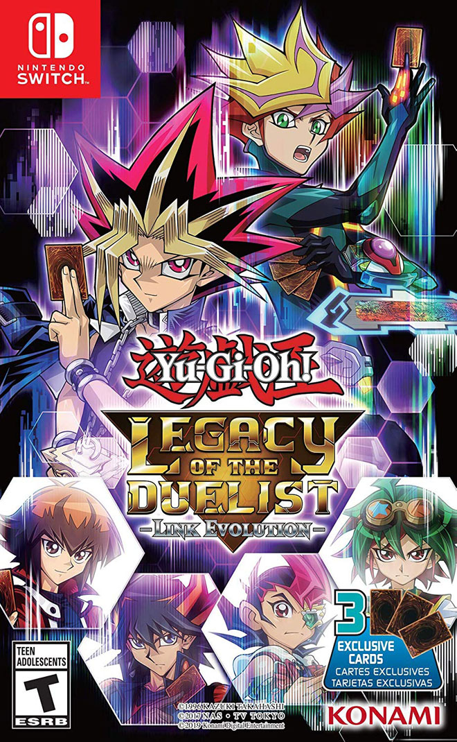 Yu-Gi-Oh! Legacy of the Duelist: Link Evolution - Nintendo Switch Cover