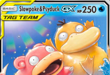 Slowpoke & Psyduck-GX (Unified Minds UNM 35)