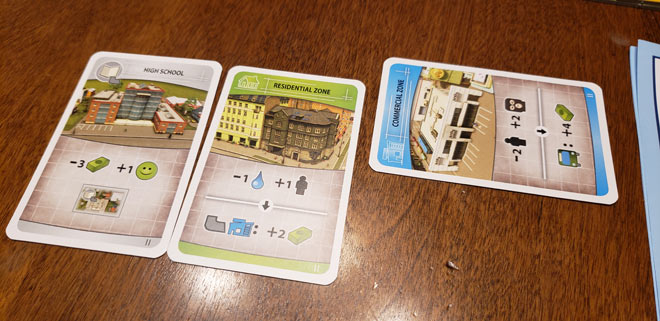 Cities: Skylines – The Board Game Construction Cards