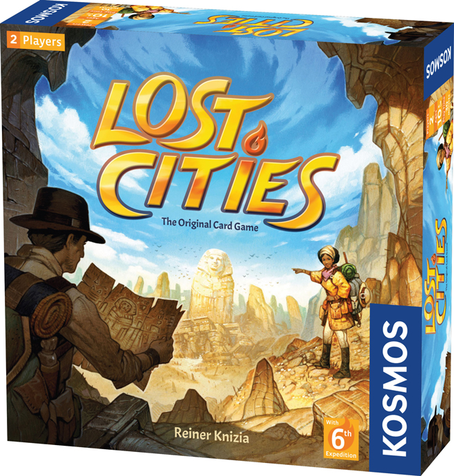 Lost Cities The Card Game (2019 version)