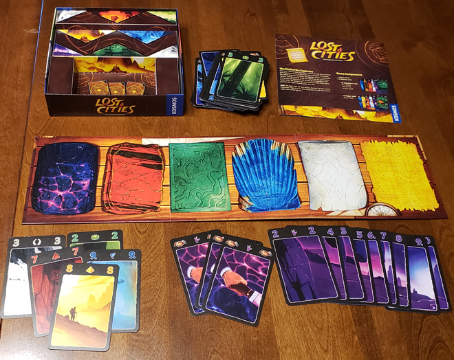 Lost Cities: The Original Card Game
