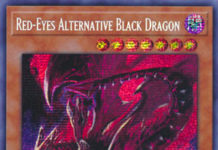 Red-Eyes Alternative Black Dragon