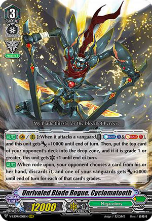 Unrivaled Blade Rogue, Cyclomatooth (V Series)