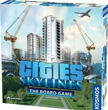 Cities: Skylines is Coming Off the Screen and Into A Store Near You!