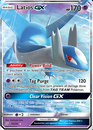 Latios-GX (Unified Minds UNM 78)