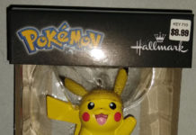 Pikachu Holiday Ornament