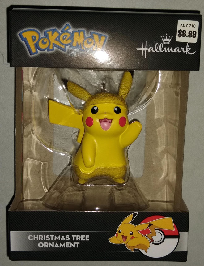 Pikachu Holiday Ornament