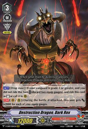Destruction Dragon, Dark Rex - V