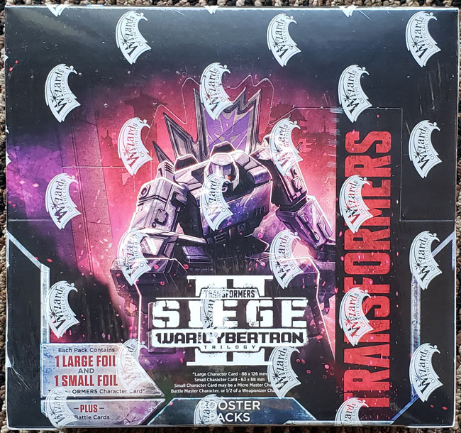 Sealed Wave 4 Booster Box - Siege II