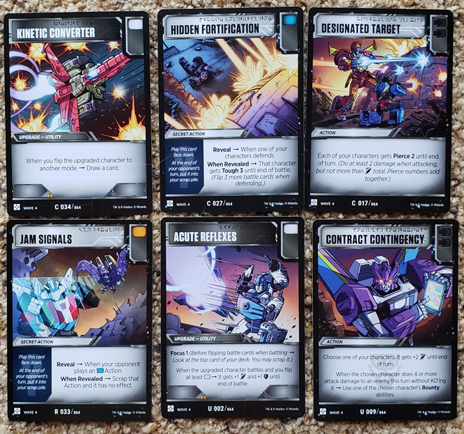 Wave 4 Battle Cards
