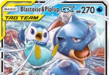 Blastoise & Piplup 38/236 - Pokemon - Cosmic Eclipse