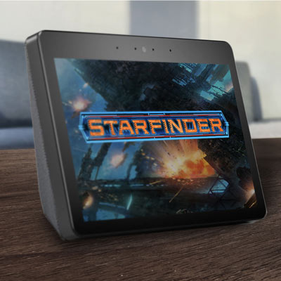 PAIZO TO PREMIERE  STARFINDER VOICE RPG SKILL FOR AMAZON ALEXA
