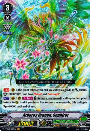 Arboros Dragon, Sephirot (V Series)