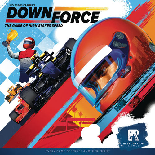 Downforce Board Game Box