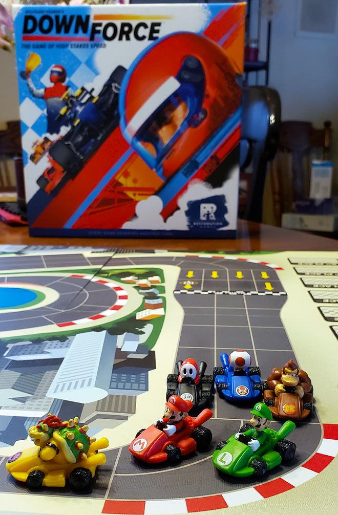 Downforce Mario Kart Variant